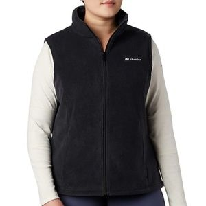 NWT plus size Columbia fleece vest